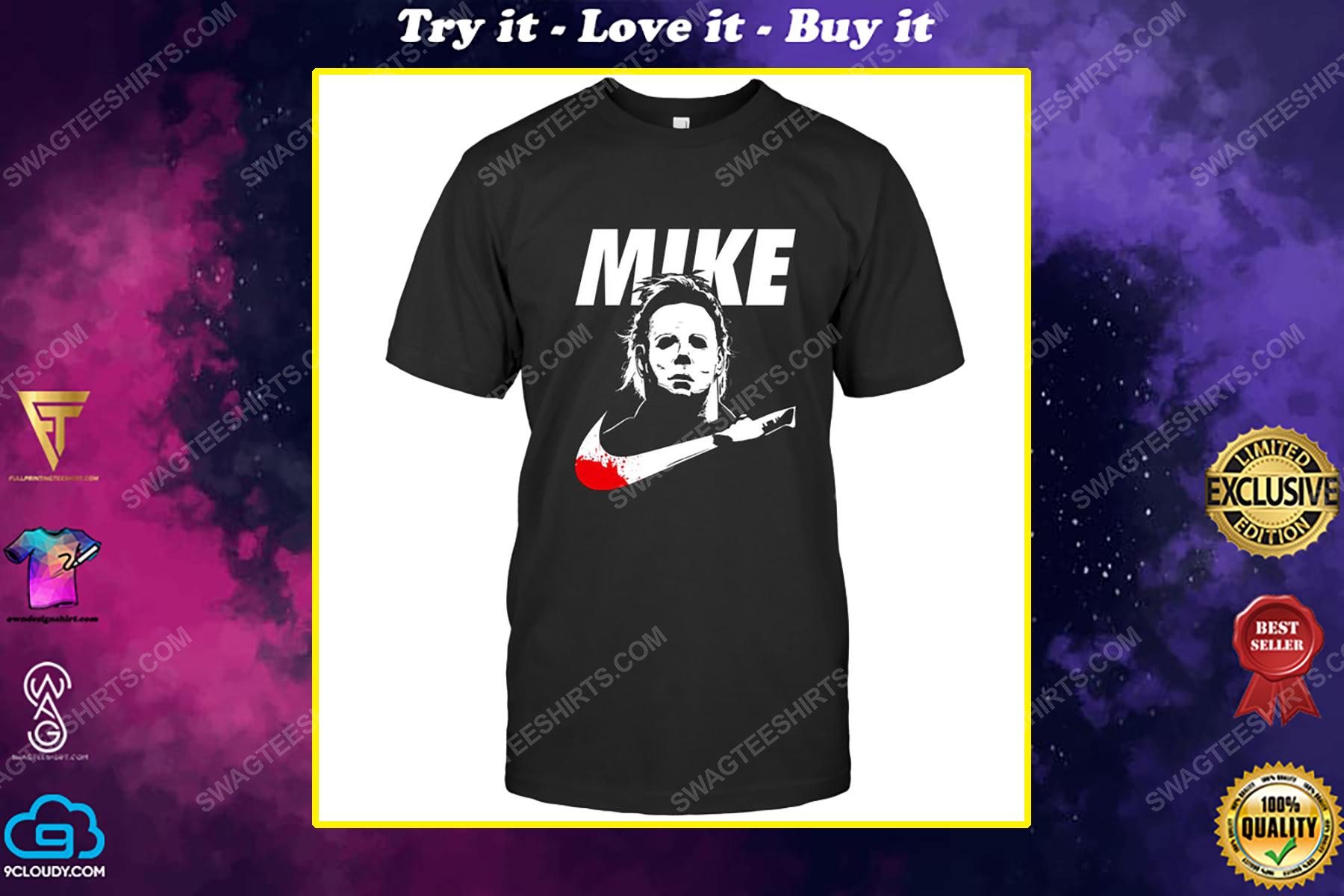 Horror halloween michael myers mike shirt