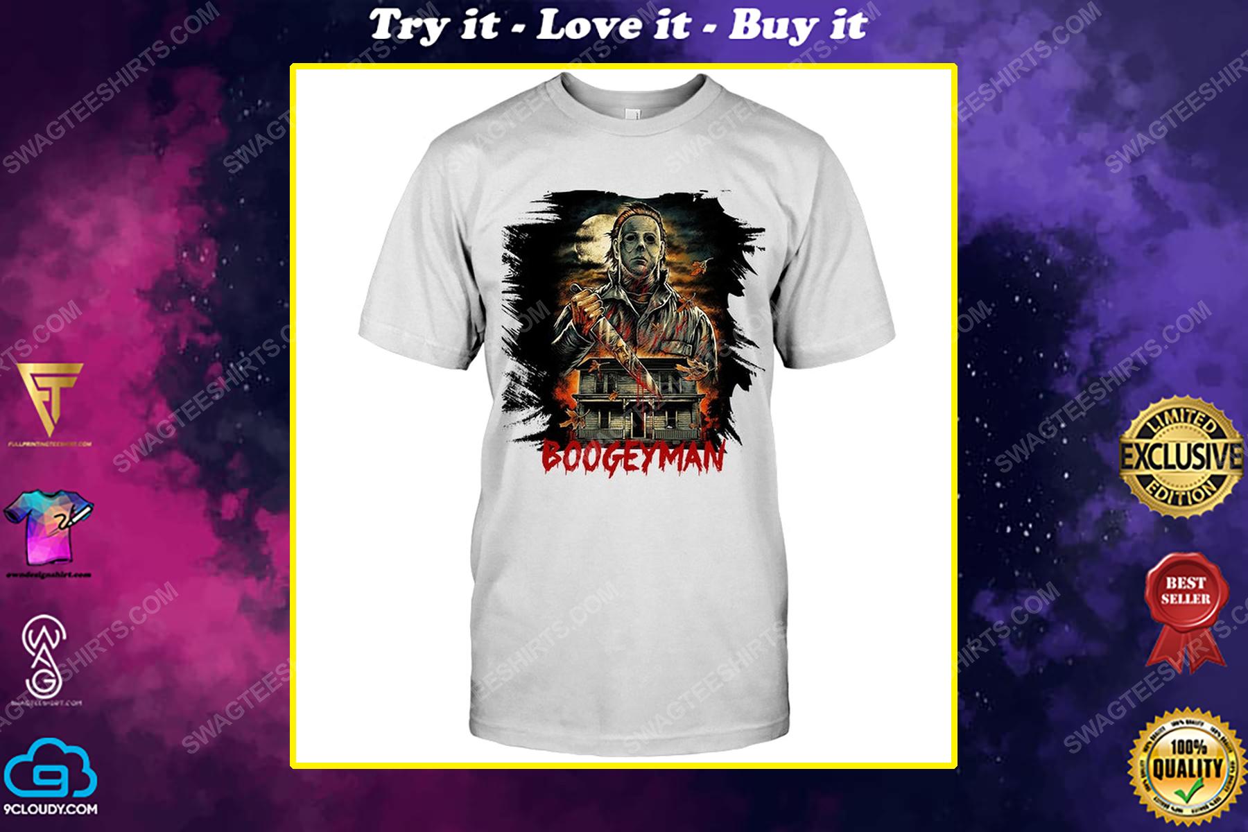 Halloween michael myers boogeyman shirt