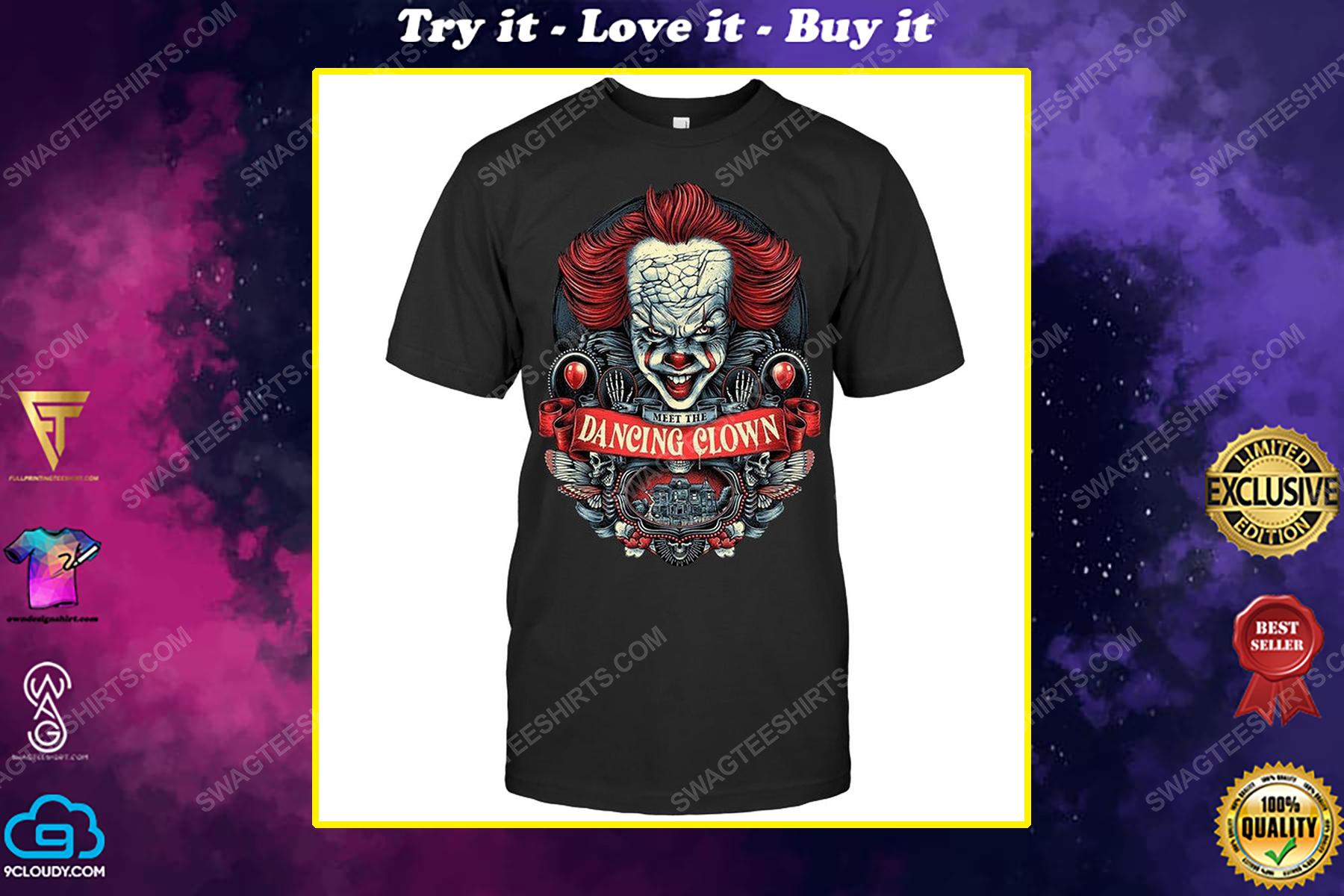 It meet the dancing clown for halloween shirt